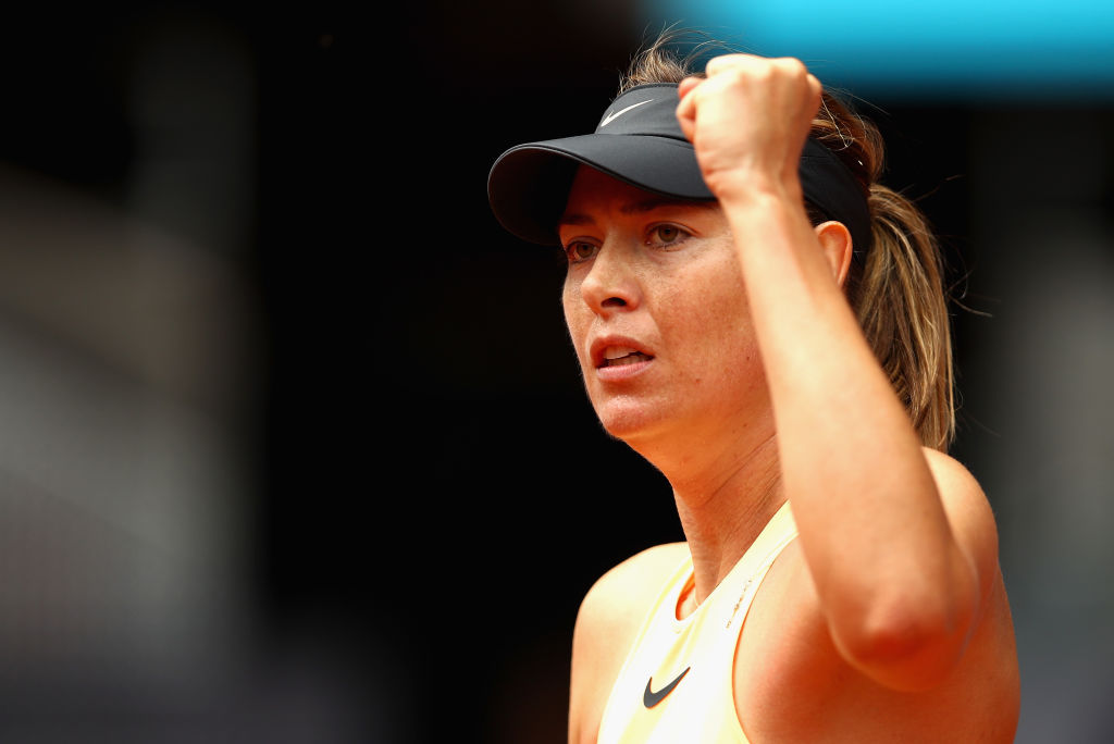 maria sharapova shocking retirement