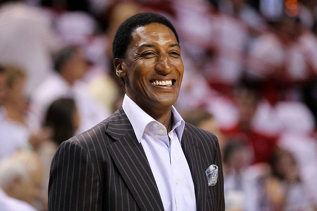 scottie pippen smiling