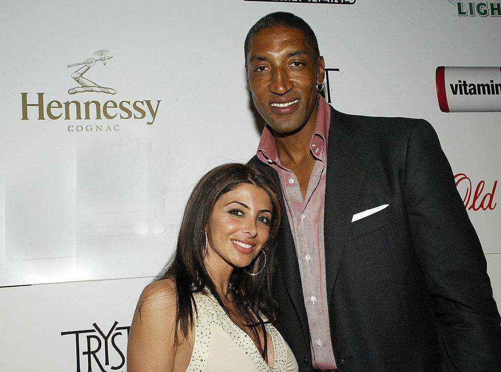 scottie pippen and once of his former wives