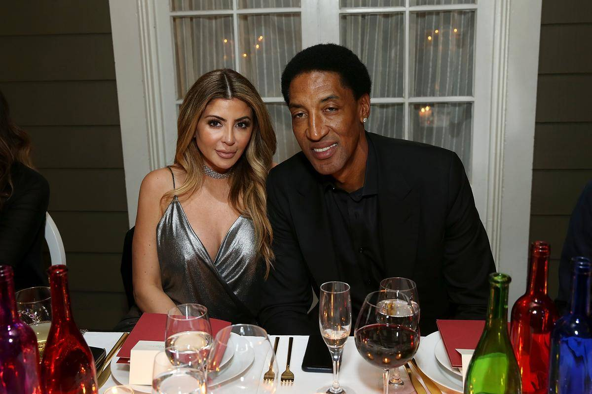 scottie pippen and girlfriend