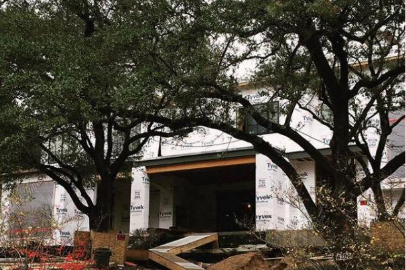 troy aikman home under construction