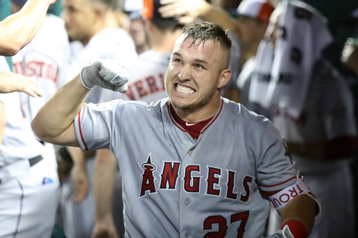 mike trout angels