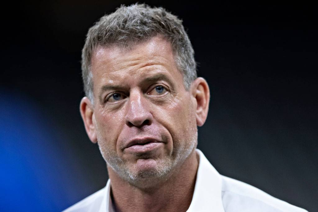 troy aikman close up