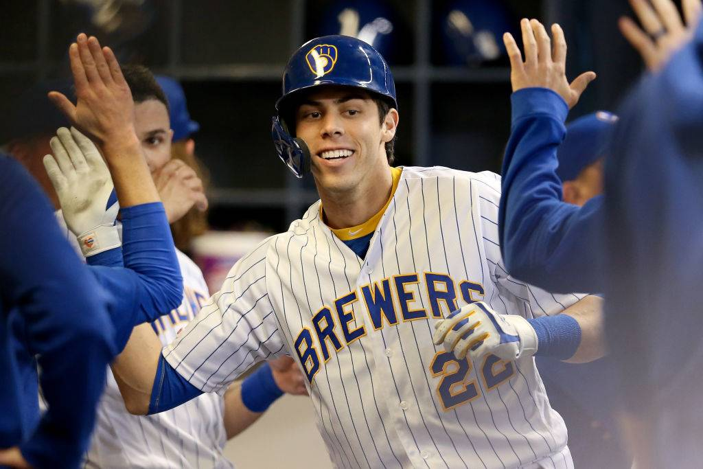 christian yelich brewers