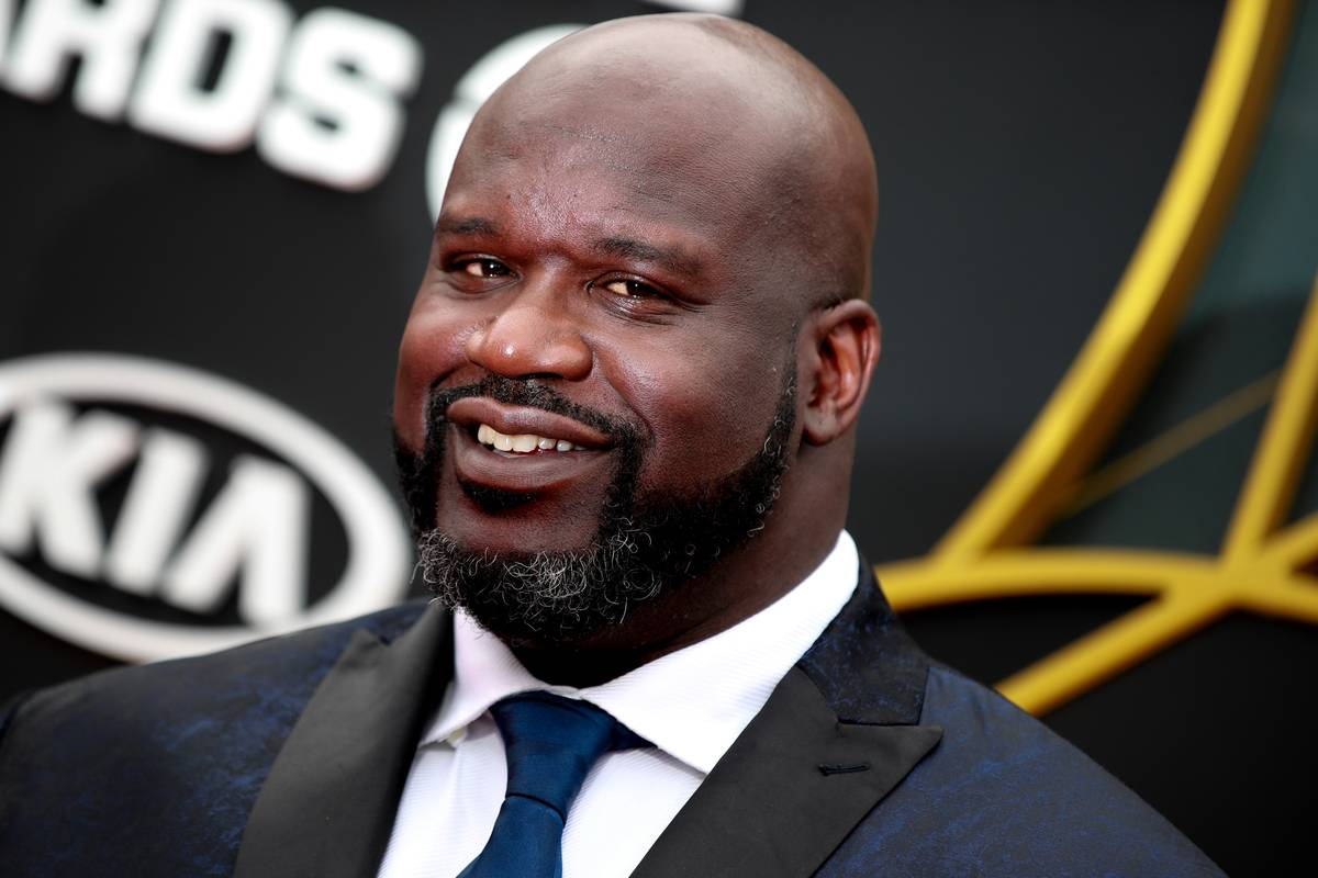 shaq at an event