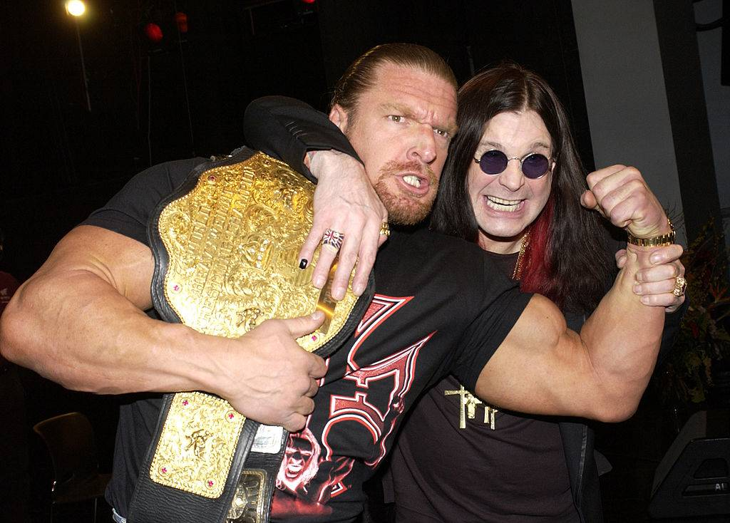 ozzy and triple H