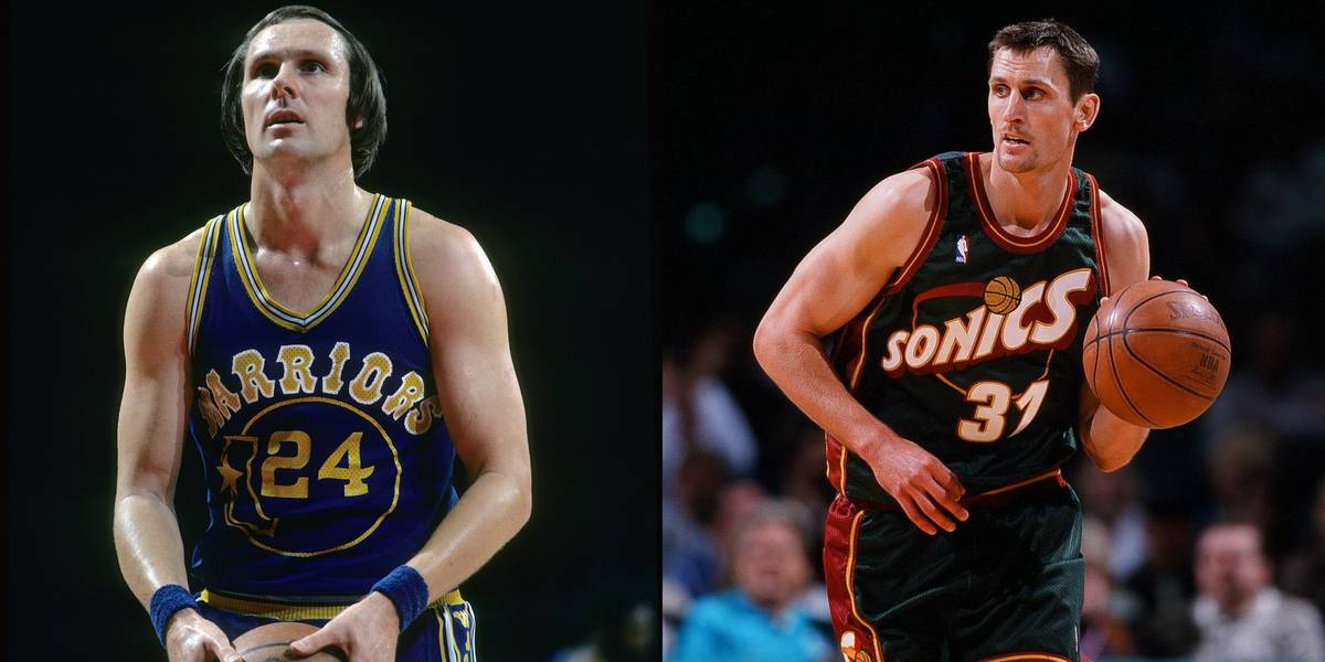 Rick Barry and Brent Barry