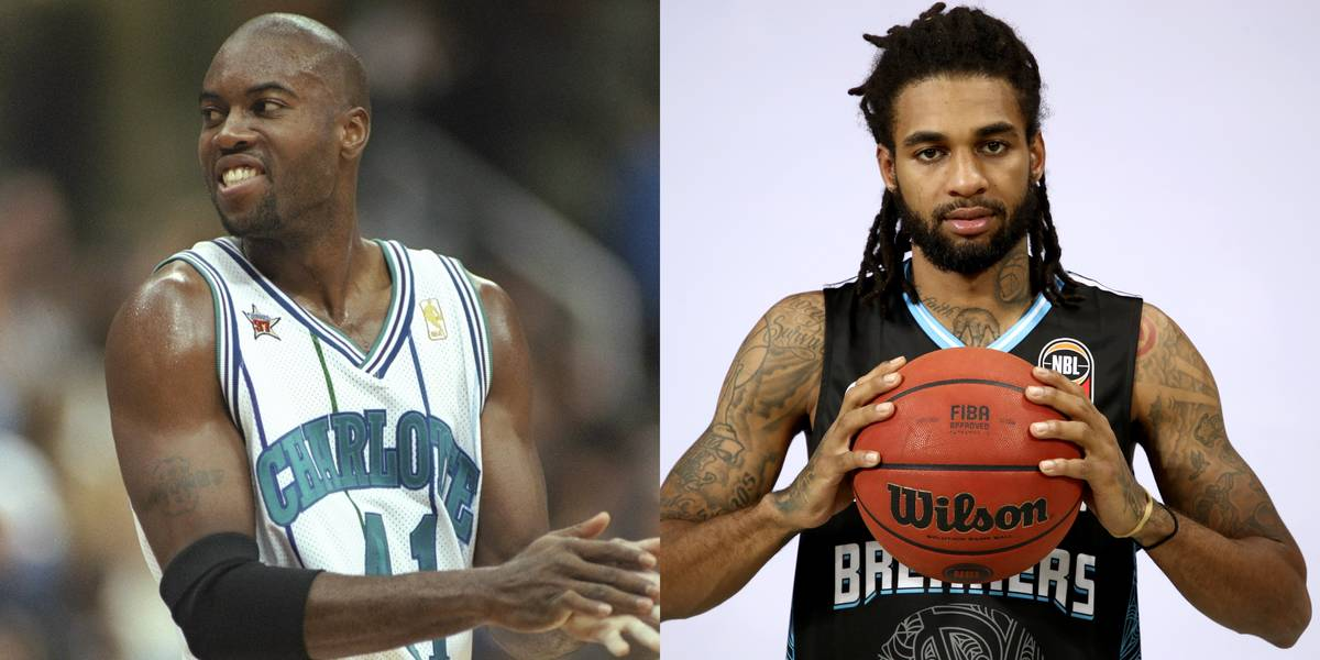 Glen Rice and Glen Rice Jr.