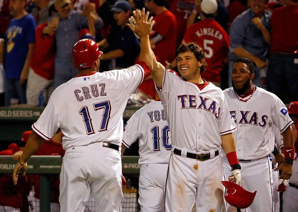2011 texas rangers