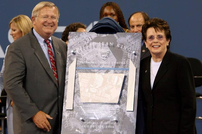 US Open Facility Being Named After Billie Jean King