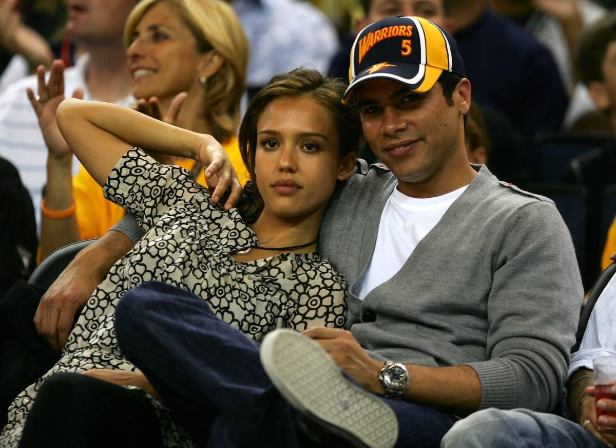 Jessica Alba Enjoys Attending Golden State Warrior Games