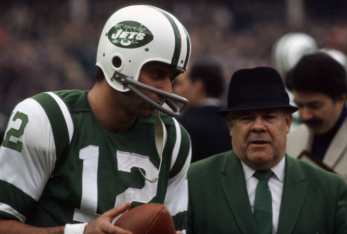 New York Jets joe namath