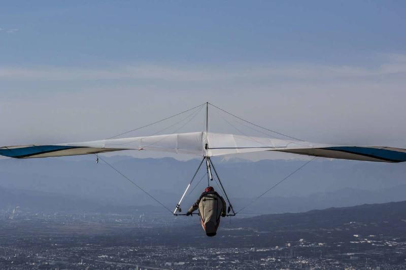 hang gliding in japan