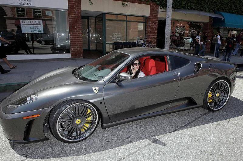 Kim Kardashian's Ferrari