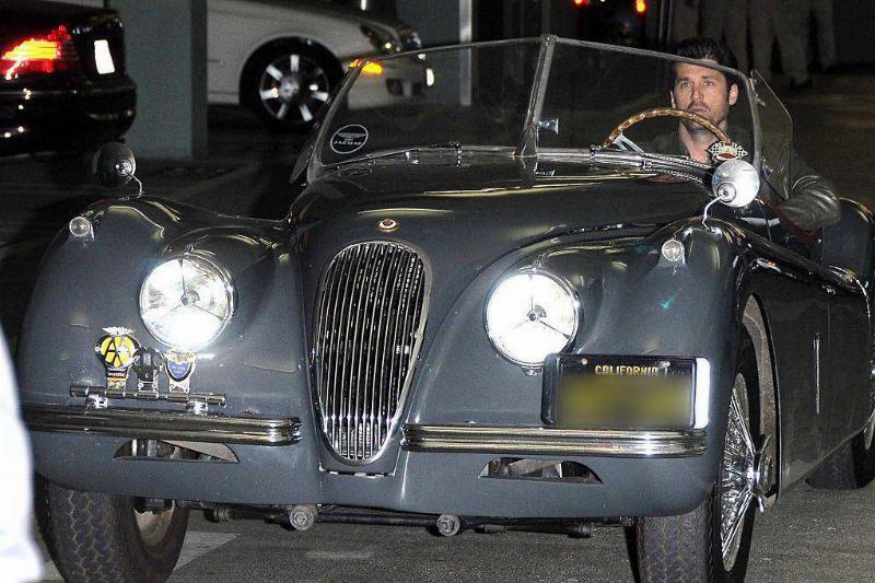 Patrick Dempsey's Jaguar
