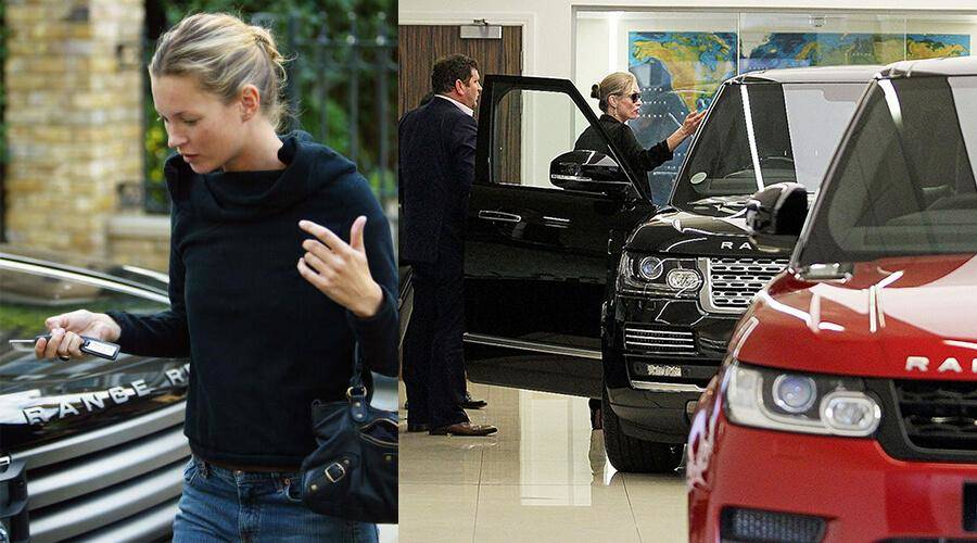 Range Rovers Are Kate Moss' Style