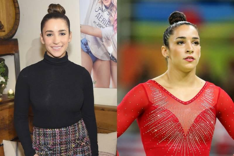 Aly Raisman Was A Stunning Two-Time Captain
