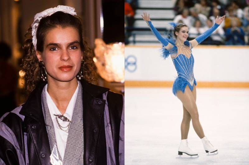 Katarina Witt Is A Unique Beauty