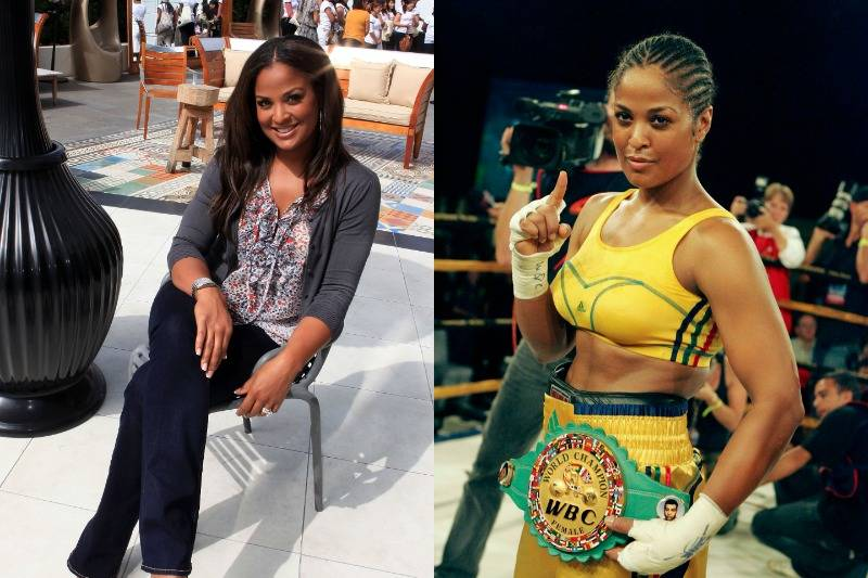 Laila Ali Isn't Just Naturally Beautiful, She's Naturally Talented