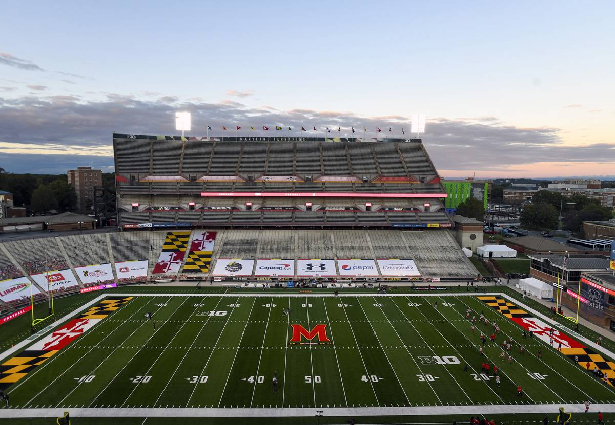 COLLEGE FOOTBALL: OCT 30 Minnesota at Maryland
