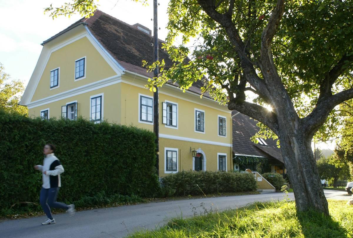 Schwarzenegger childhood home in austria