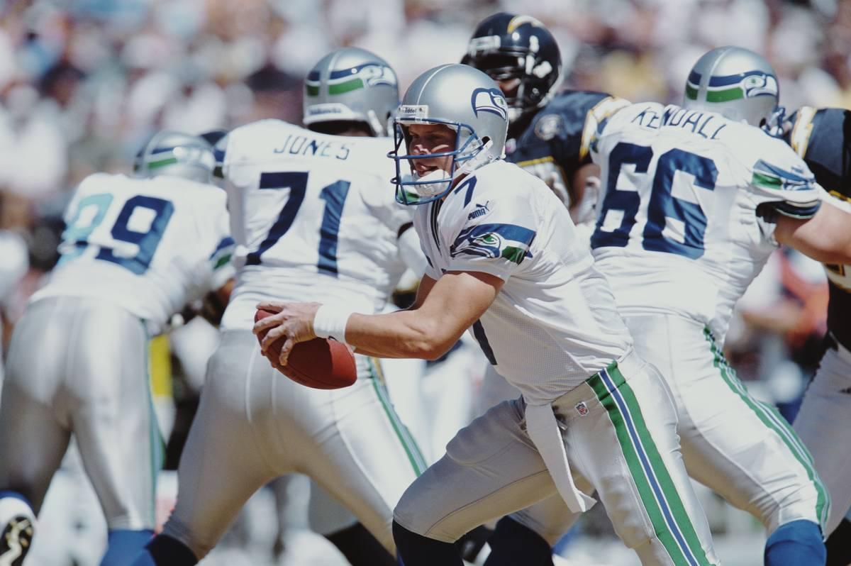 Seattle Seahawks qb jon kitna in 2000