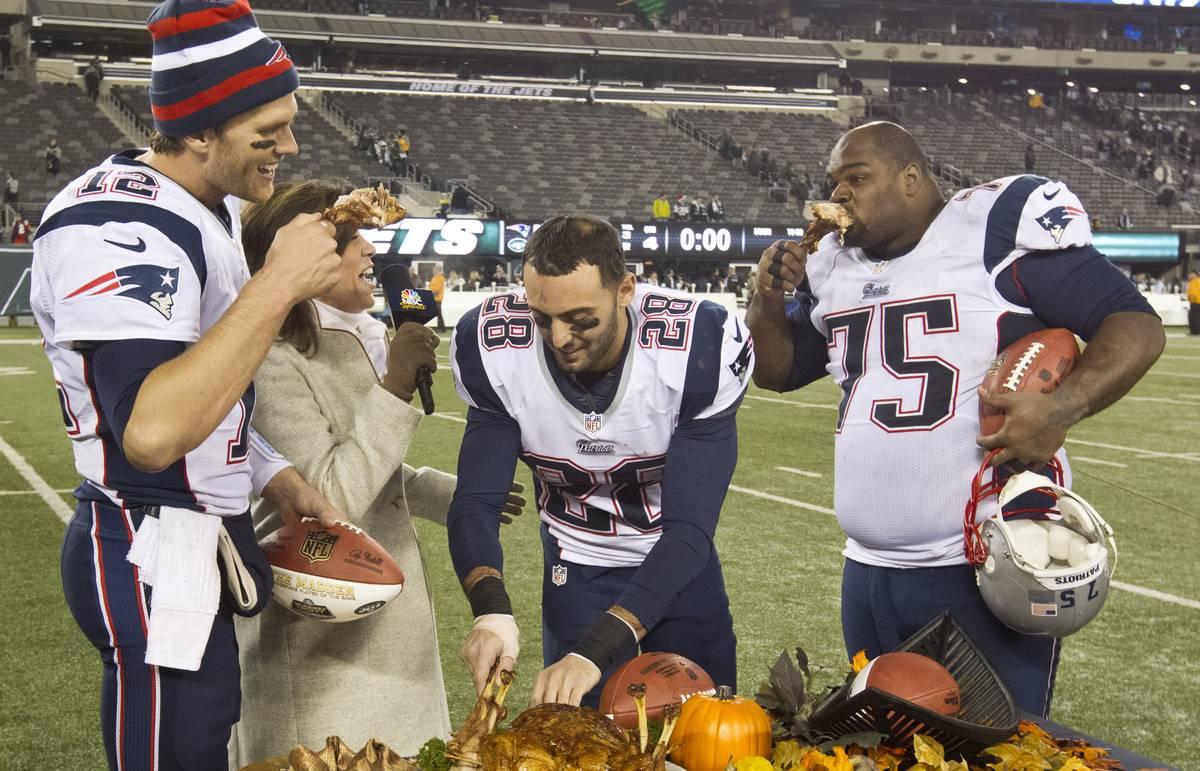 tom brady eating food