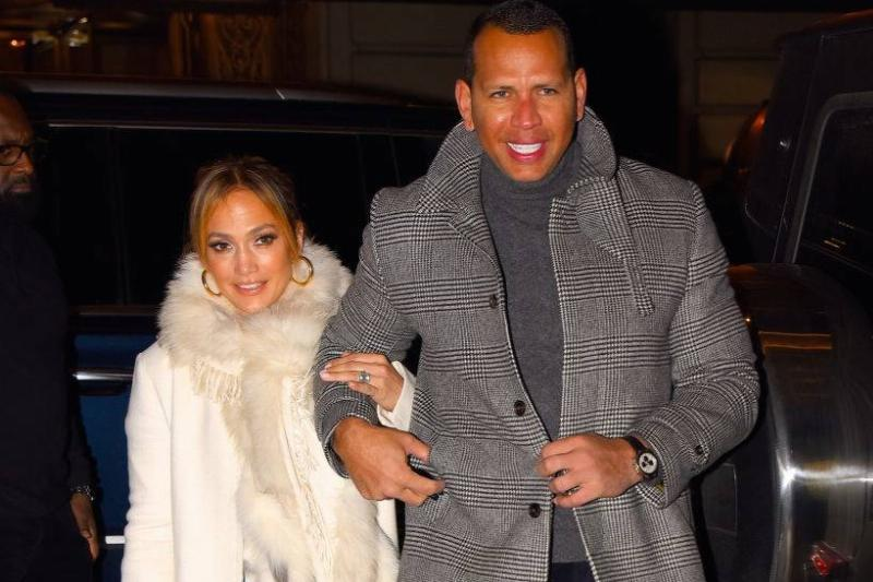 Jennifer Lopez and Alex Rodriguez seen out and about in Manhattan in 2019