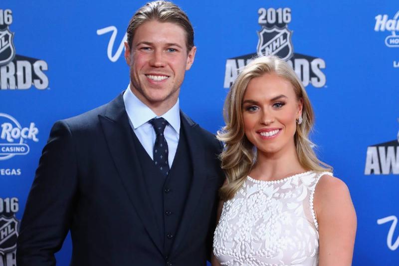 Matt and Sydney attend the 2016 NHL Awards.