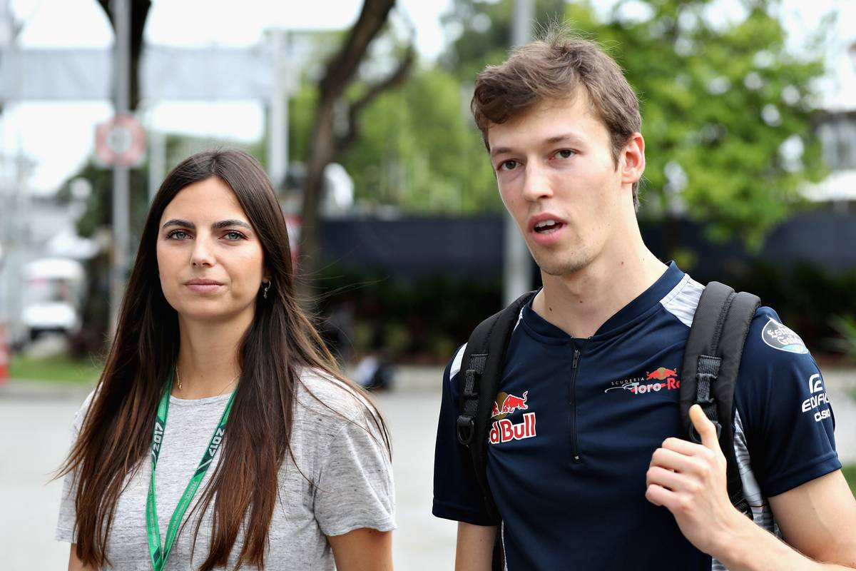 Daniil Kvya Dated Kelly Piquet From 2017-2020