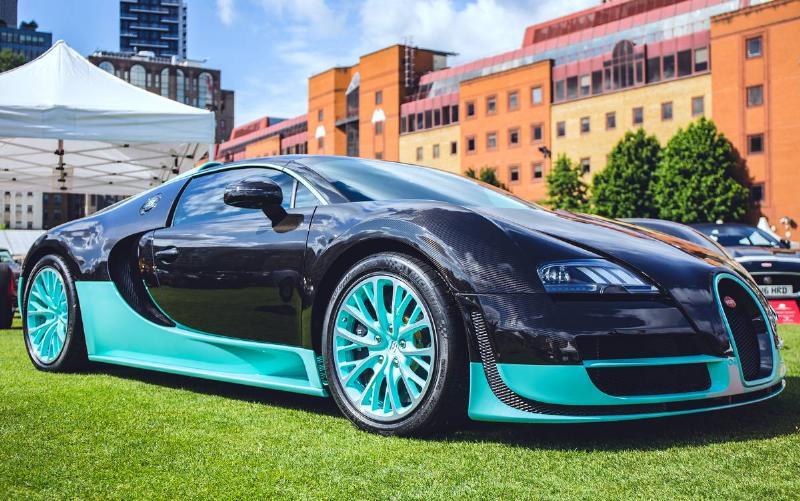 The Bugatti Veyron