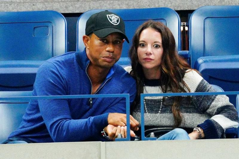 Tiger Woods and Erica Herman cheer on Rafael Nadal at 2019 US Open