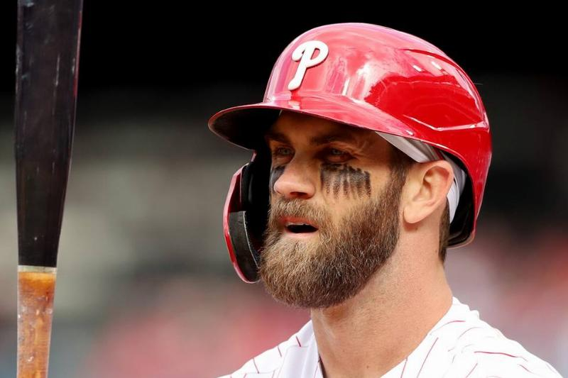 bryce harper of the philadelphia phillies