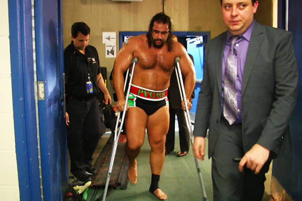Picture of crutches