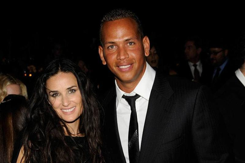 Demi Moore and Alex Rodriguez