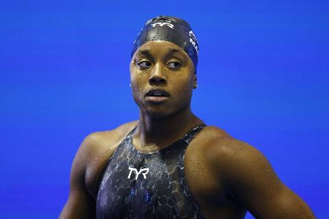 Simone Manuel, A Swimmer From The USA