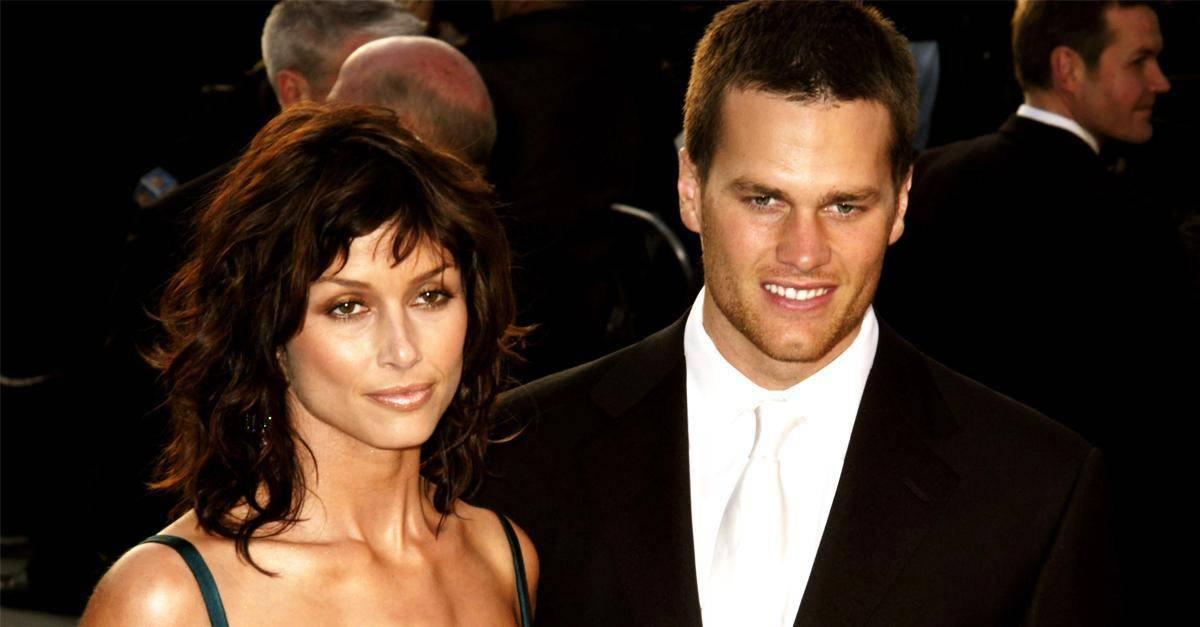 Tom Brady with his ex Bridget Moynahan