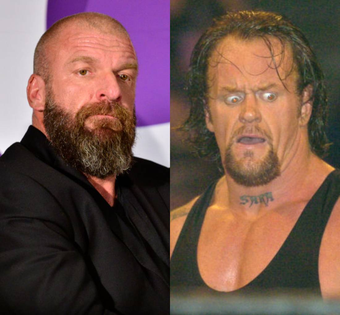 Triple H and the undertaker split