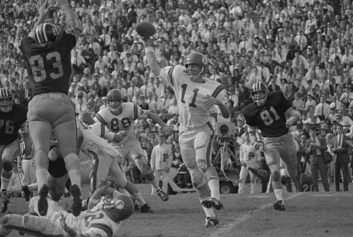 Steve Spurrier Setting the Passing Record at The Sugar Bowl