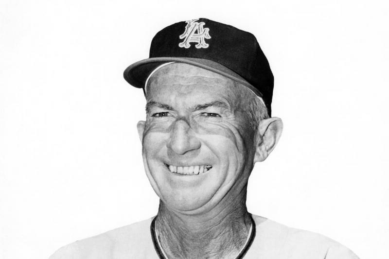 Los Angeles Angels manager bill rigney