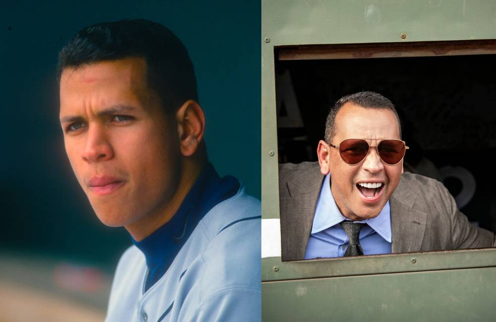 alex rodriguez old and young