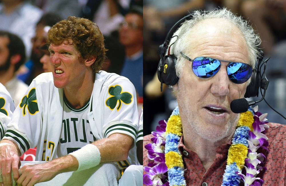 bill walton young and old