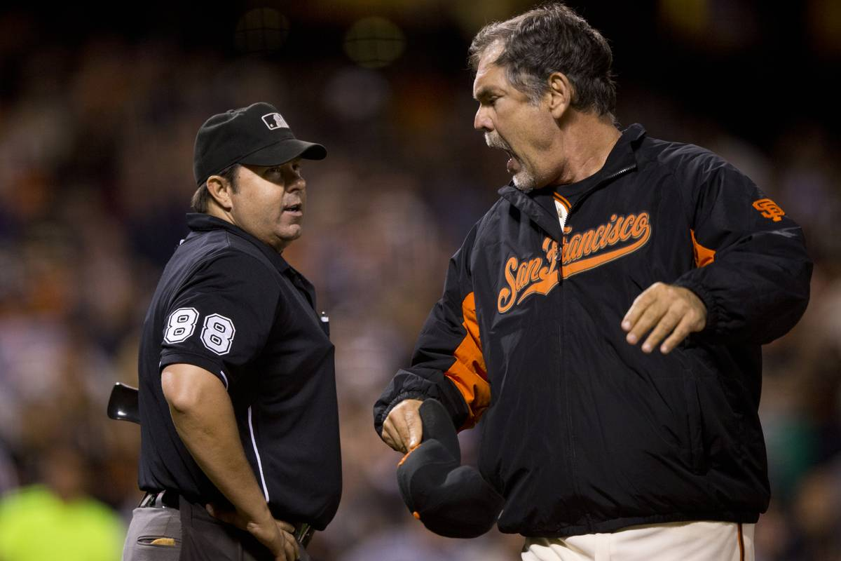 bruce bochy of the giants