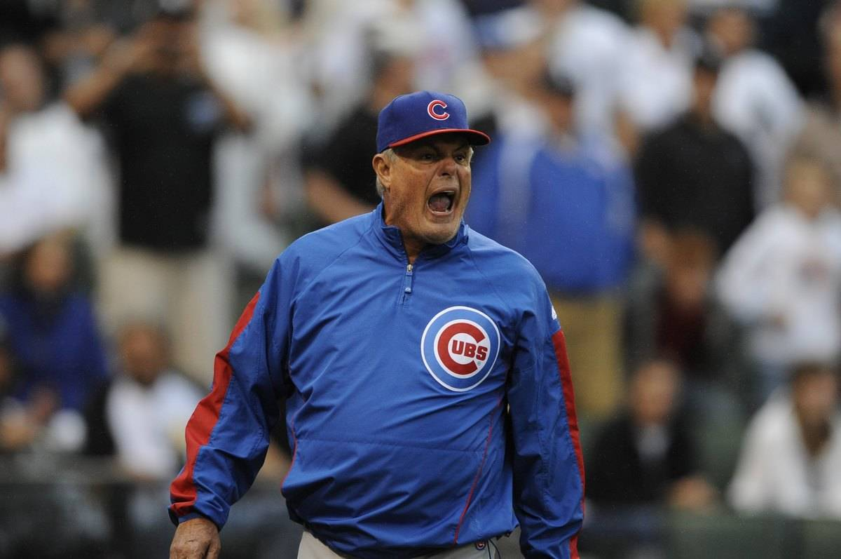 lou piniella of the cubs