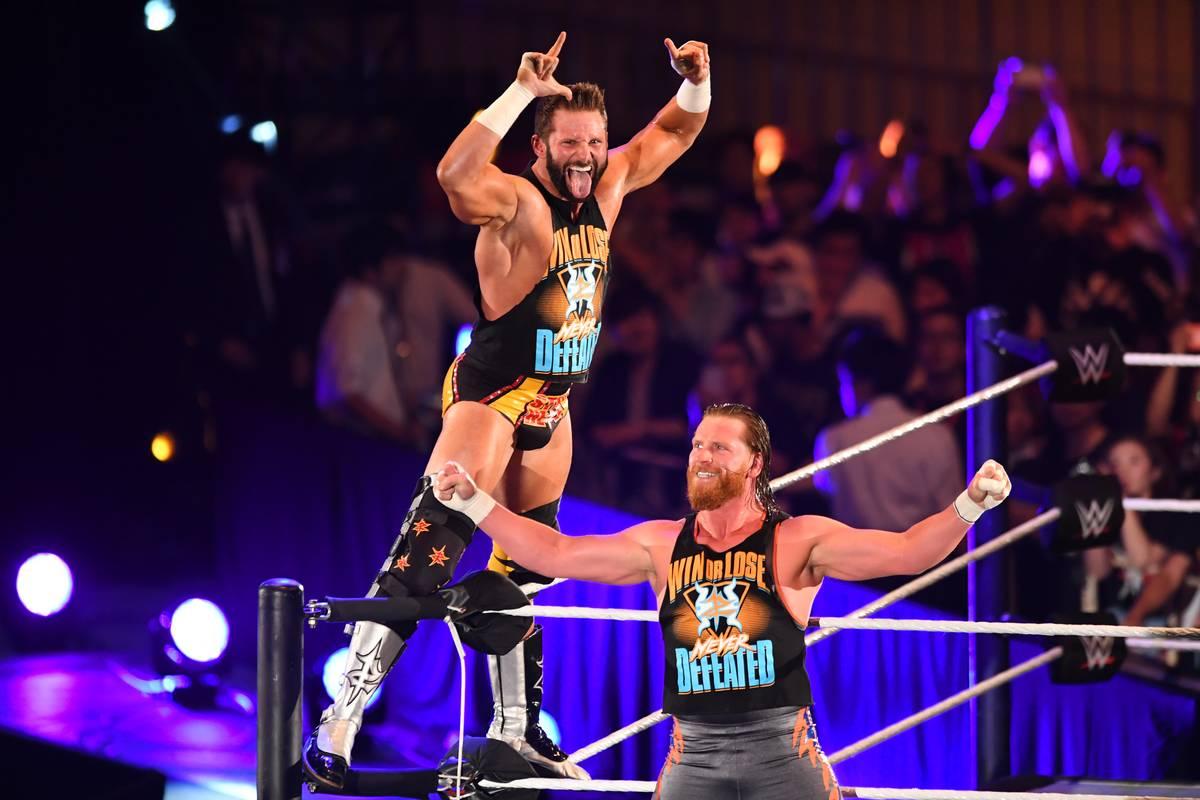 WWE wrestlers in tokyo